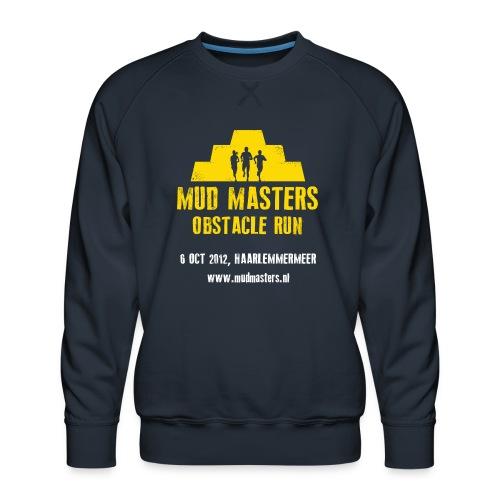 tshirt front - Mannen premium sweater
