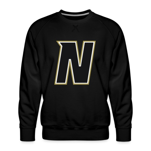 Nordic Steel Black N - Men's Premium Sweatshirt