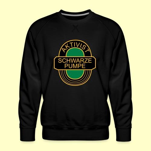 BSG Aktivist Schwarze Pumpe - Männer Premium Pullover