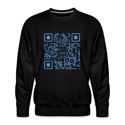 QR Maidsafe.net - Men's Premium Sweatshirt