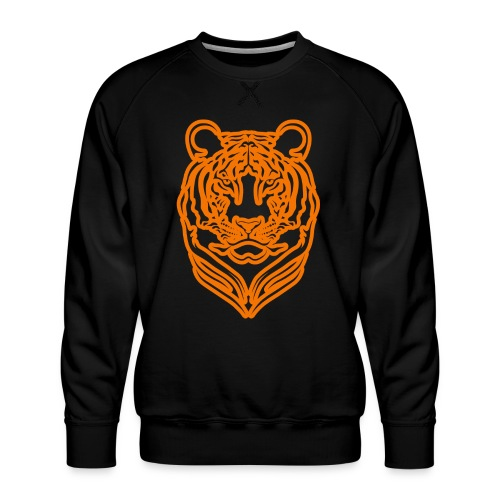 Tigre - Sweat ras-du-cou Premium Homme