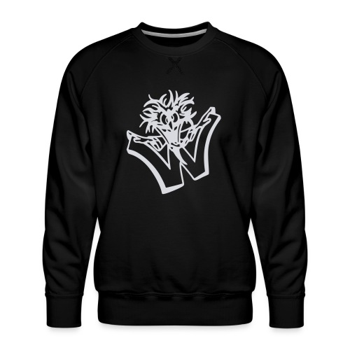 w wahnsinn - Mannen premium sweater