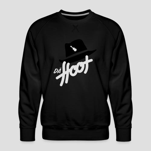daeHoot_Shirt_Logo2_2c - Männer Premium Pullover