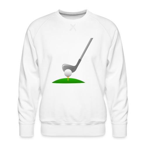 Golf Ball PNG - Sudadera premium para hombre
