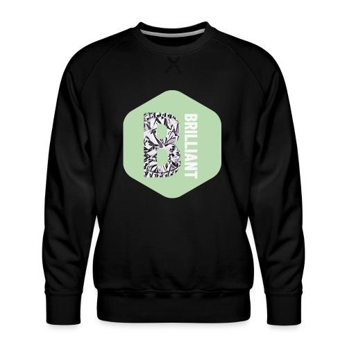 B brilliant green - Mannen premium sweater
