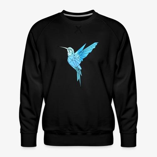 Kolibri Geometrisch - Männer Premium Pullover