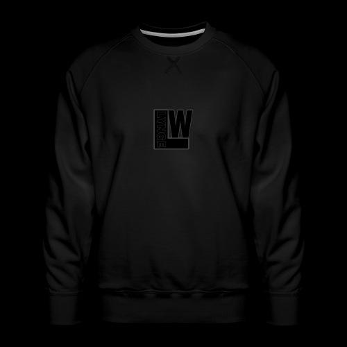 LW Lynge - Herre premium sweatshirt