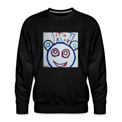 de panda beer - Mannen premium sweater
