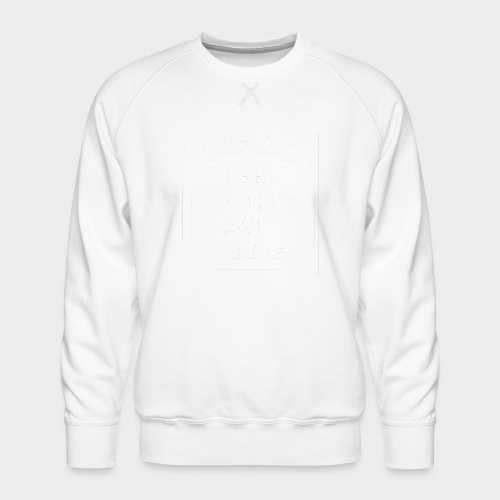 Keep calm and drive (Keep calm and drive) - Men's Premium Sweatshirt