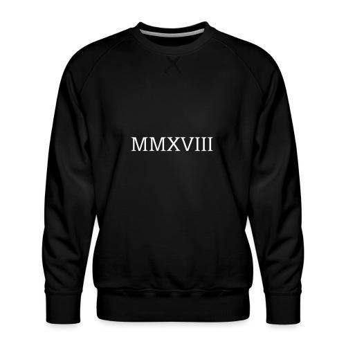 MMXVII - design - Sweat ras-du-cou Premium Homme