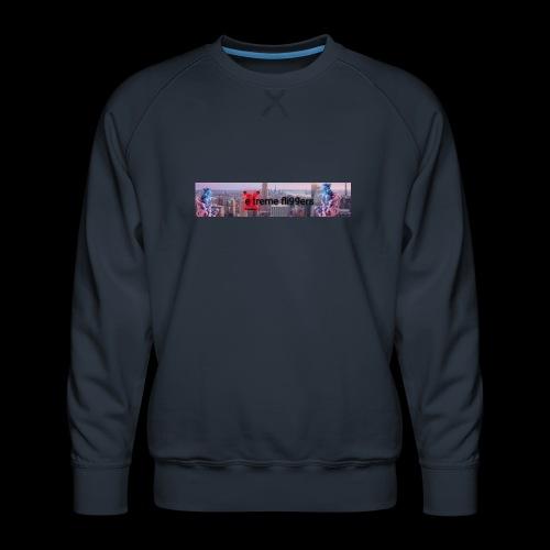 eXtreme fli99ers tryck på en tröja. - Premiumtröja herr