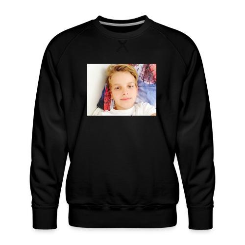 first design - Herre premium sweatshirt