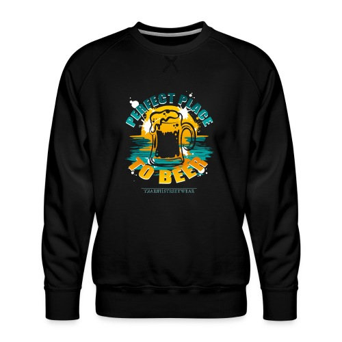 a perfect place to beer - Männer Premium Pullover