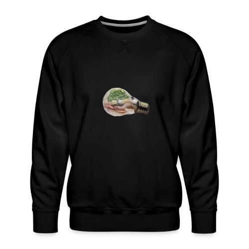 Baum und fliege in einer Glühbirne Geschenkidee - Männer Premium Pullover