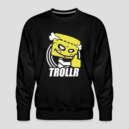TROLLR Like - Sweat ras-du-cou Premium Homme