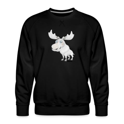 Albino elg - Premium-genser for menn