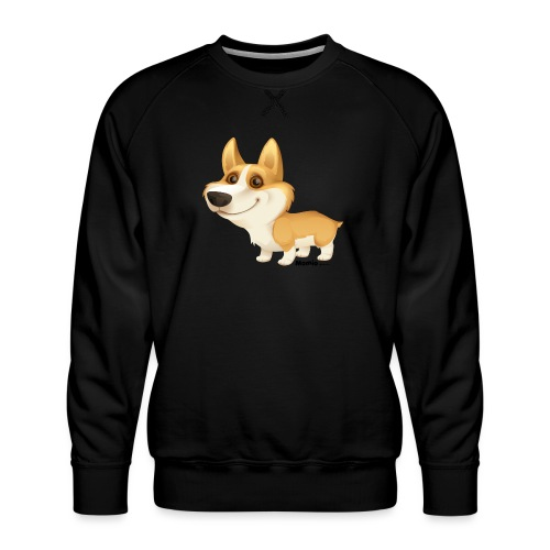 Corgi - Männer Premium Pullover