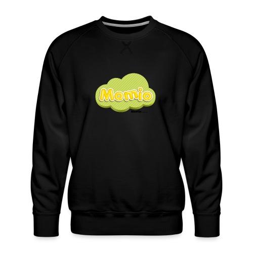 Momio-logo - Miesten premium-collegepaita
