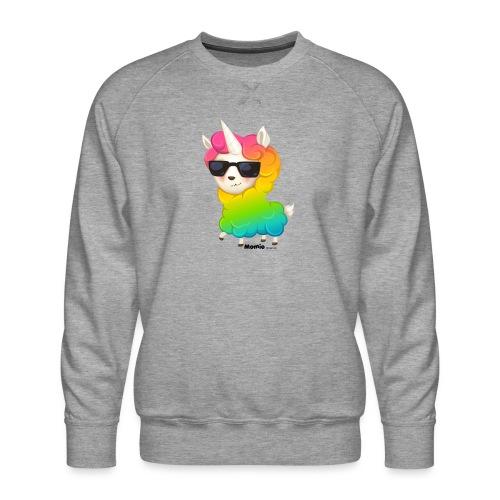Regenbogenanimation - Männer Premium Pullover