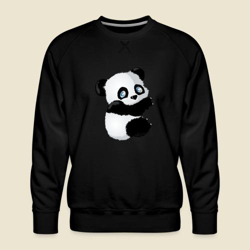 Bébé Panda - Sweat ras-du-cou Premium Homme