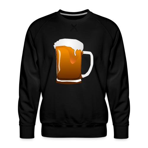 Cartoon Bier Geschenkidee Biermaß - Männer Premium Pullover