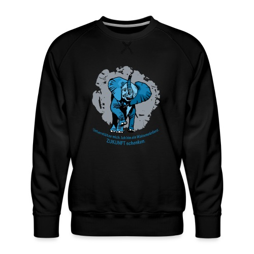 Zukunft schenken - Männer Premium Pullover
