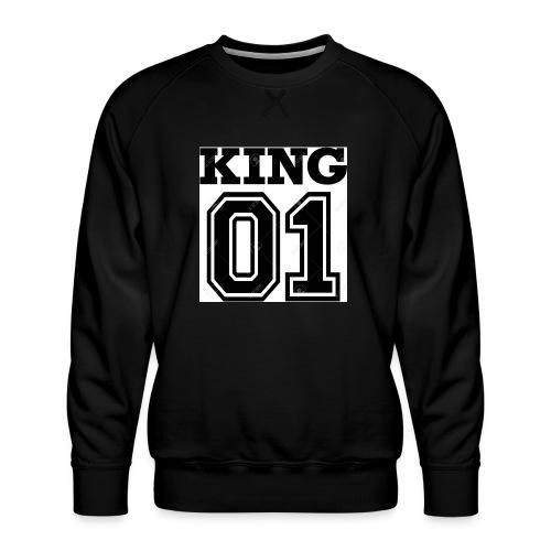 King 01 - Sweat ras-du-cou Premium Homme
