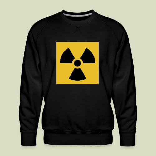Radiation warning - Miesten premium-collegepaita