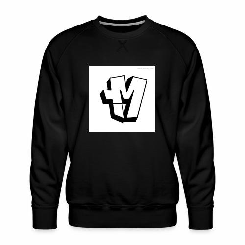 graffiti alphabet m - Men's Premium Sweatshirt
