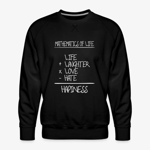 Mathematics of life - Männer Premium Pullover