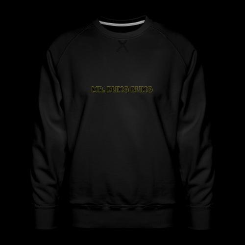 bling bling - Männer Premium Pullover
