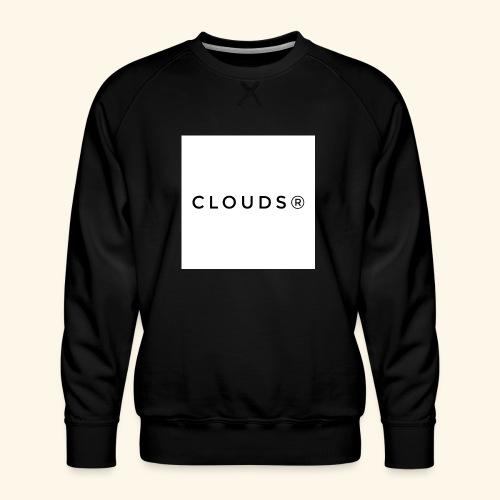 Clouds 01 - Männer Premium Pullover