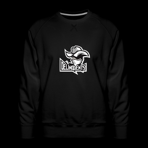 Delinquents Grå Design - Herre premium sweatshirt