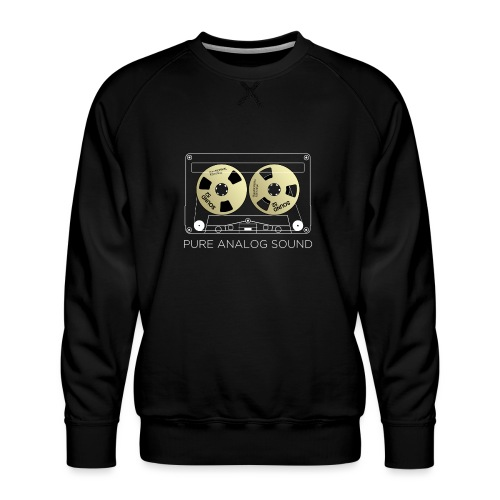 Reel golden cassette - Men's Premium Sweatshirt