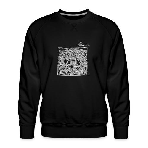 Regia TShirt Beastie White - Men's Premium Sweatshirt