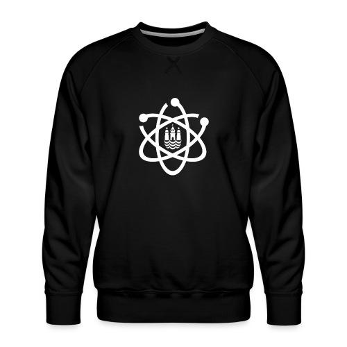 March for Science København logo - Men's Premium Sweatshirt
