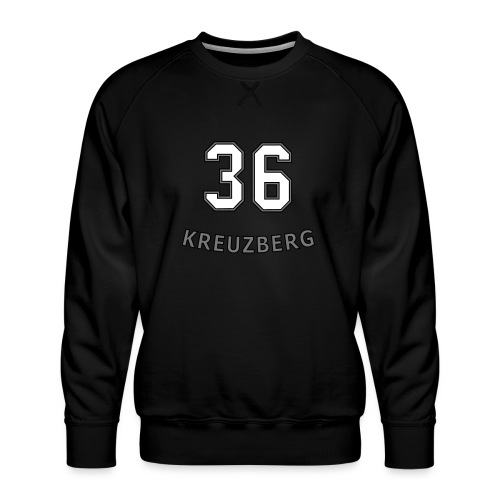 KREUZBERG 36 - Felpa premium da uomo