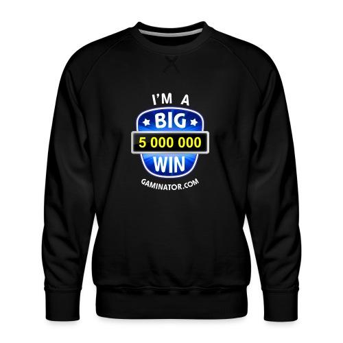 Big Win - Men's Premium Sweatshirt