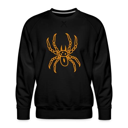 Spinne orange - Männer Premium Pullover