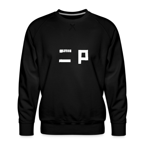full p one - Herre premium sweatshirt