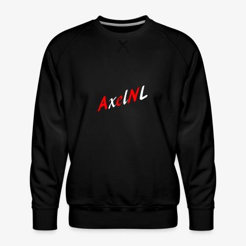 AxelNL - ROOD - Mannen premium sweater