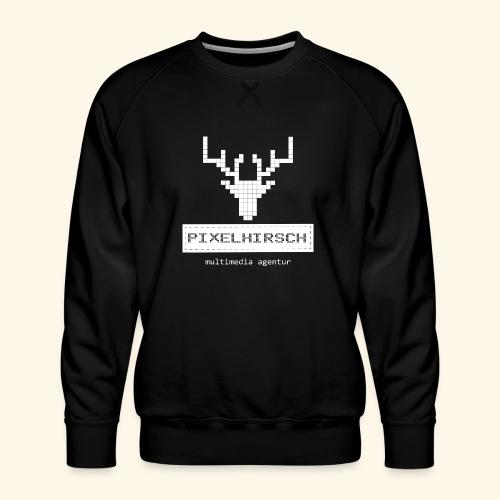 PIXELHIRSCH - high contrast - Männer Premium Pullover
