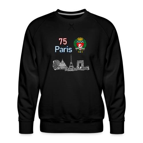Paris france - Sweat ras-du-cou Premium Homme