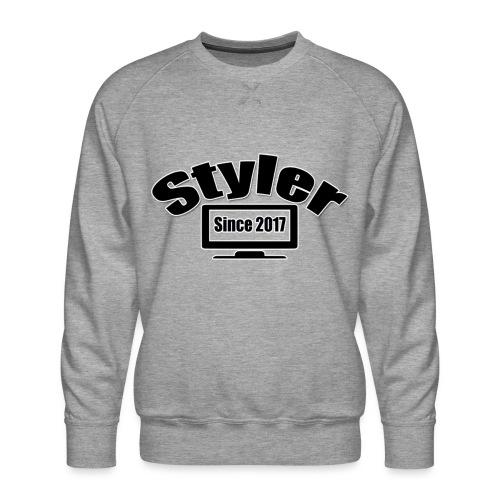 Styler Designer Kleding - Mannen premium sweater