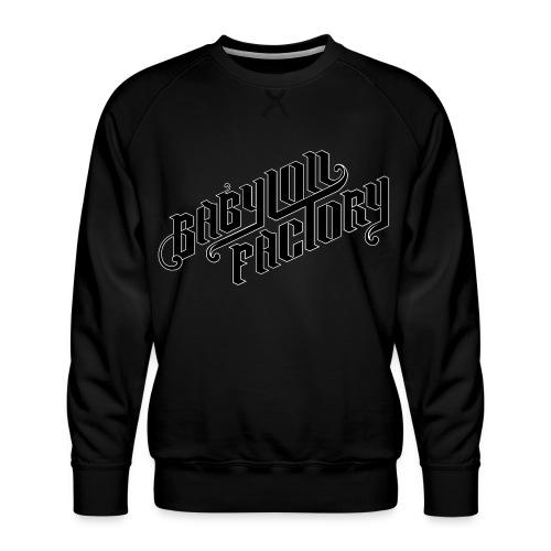 BABYLONFACTORY - Männer Premium Pullover