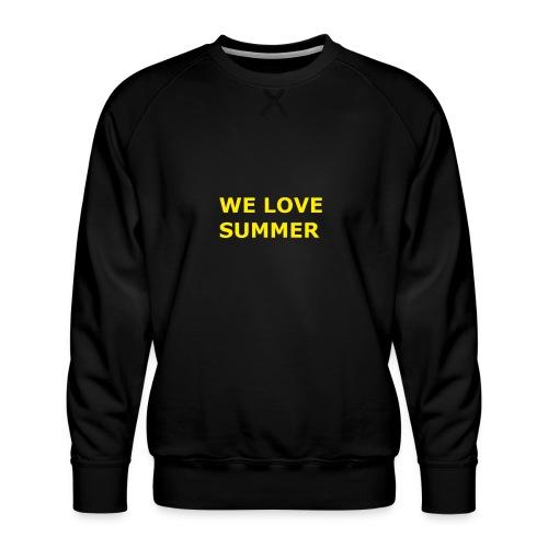 we love summer - Männer Premium Pullover