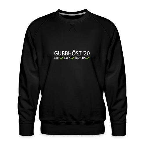 Gubbhöst 2020 - Premiumtröja herr