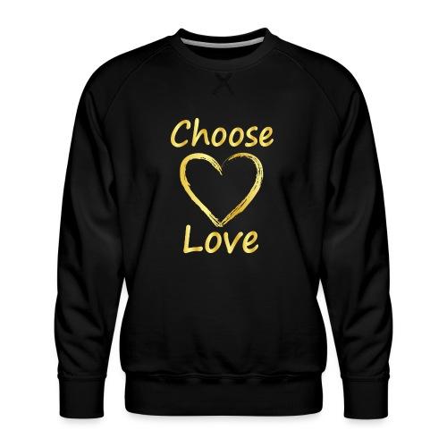 Love - Men's Premium Sweatshirt