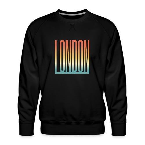 London Souvenir England Simple Name London - Männer Premium Pullover