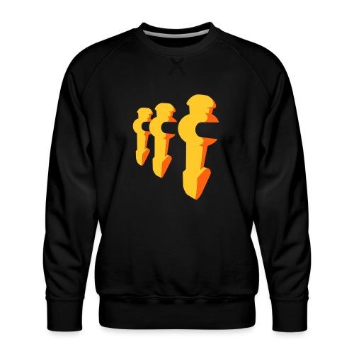 Kickerfiguren - Kickershirt - Männer Premium Pullover